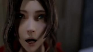 Aerith Gloryhole Blowjob